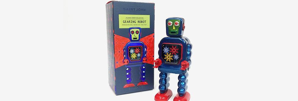 Saint John 鐵皮玩具 - 傳動機器人