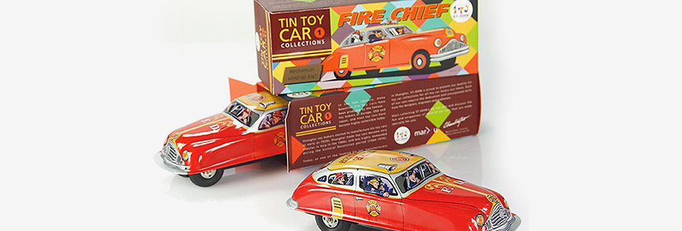 Saint John 鐵皮玩具 - 消防車