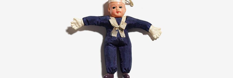 日本製40's賽璐珞美國海軍水手玩偶