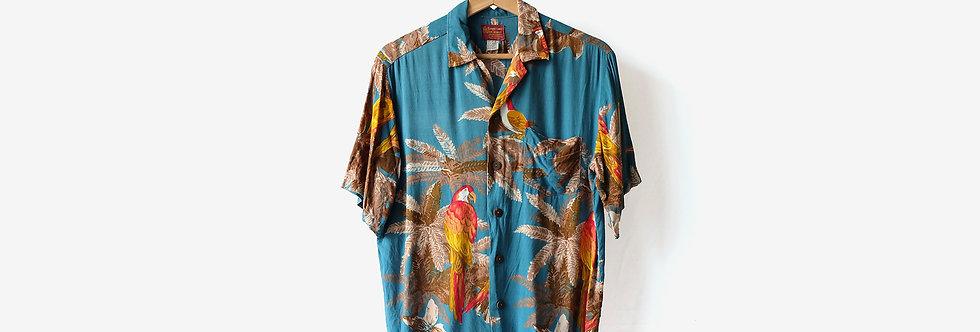 Sugar Cane 熱帶圖案襯衫