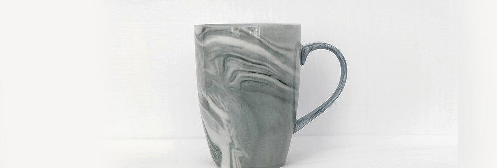 大理石紋瓷杯