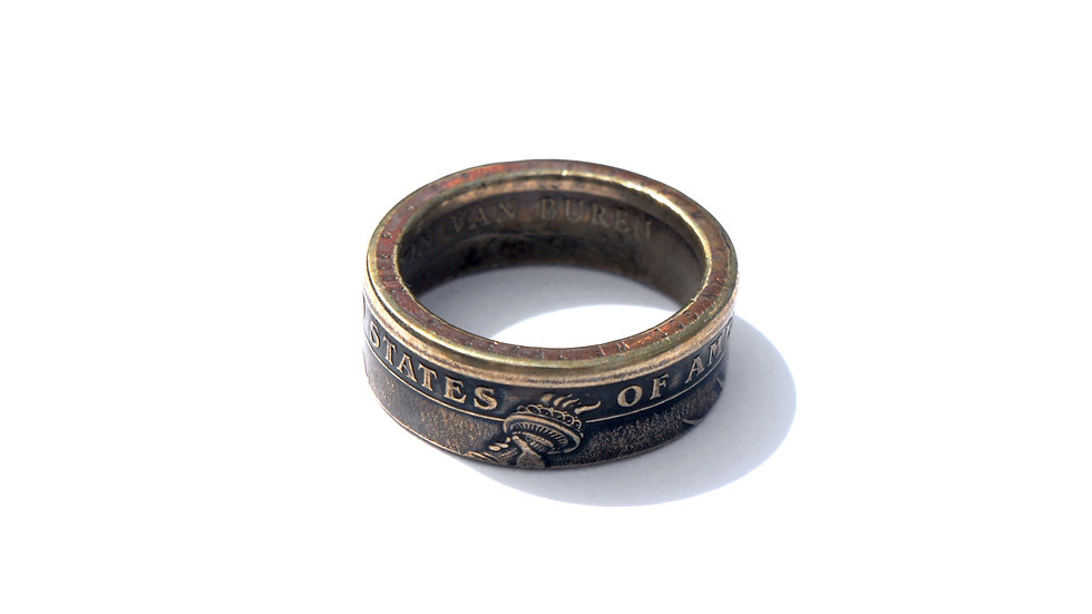 美國一圓錢幣戒指