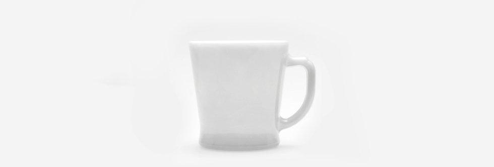美國 Fire King 牛奶玻璃杯