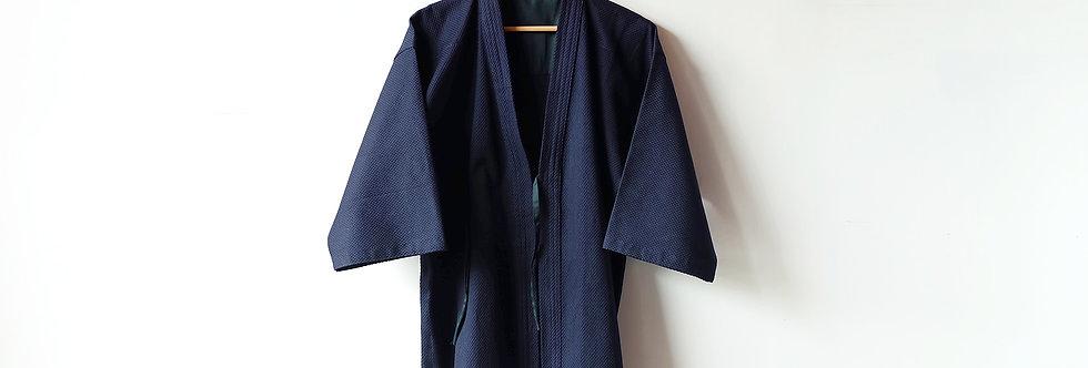 一劍一重靛藍色劍道袍