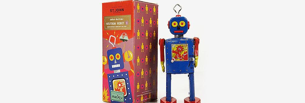 Saint John 鐵皮玩具 - 中子機器人