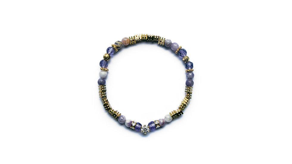 Purple Rain Bracelet [紫雨珠串]
