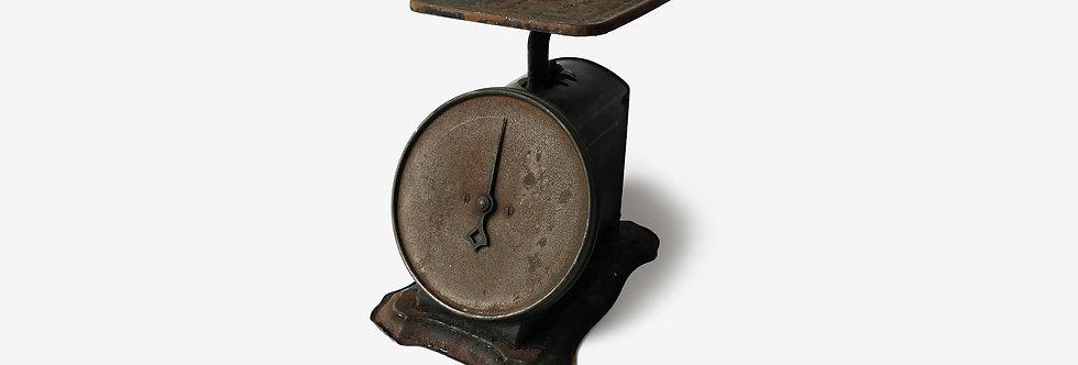 20世紀初古董Columbia家庭磅秤