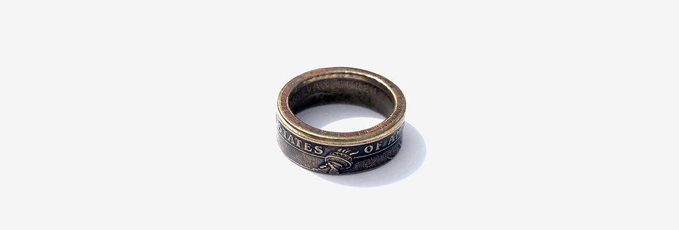 Story Crafts Co. 美國一圓硬幣戒指
