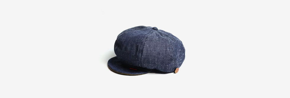 Round House 丹寧報童帽