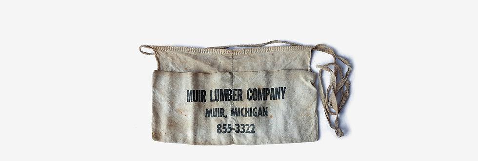 美國帆布工作老圍裙