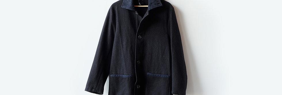 [Vintage] LAVENHAM羊毛絨中長型外套
