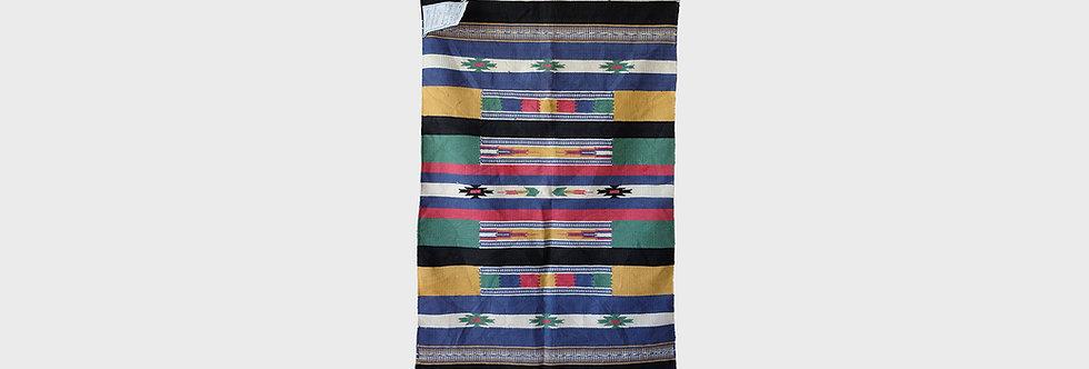 L.L. Bean 手工製印地安風格毛毯