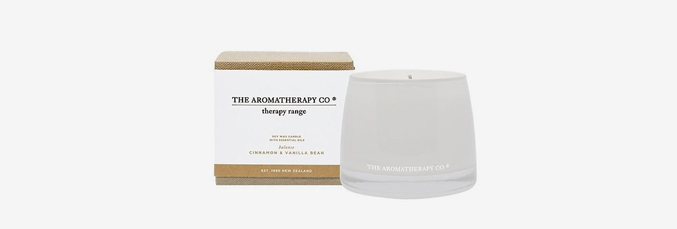 The Aromatherapy Co. 調理平衡蠟燭 - 香草肉桂