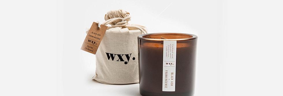 wxy. 黑炭與乳香香氛蠟燭