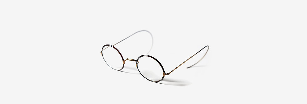 英國古董玳瑁溫莎眼鏡