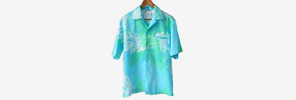 夏威夷製 MALIHINI 人造絲襯衫