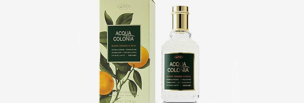 4711 ACQUA COLONIA 血橙與羅勒古龍水