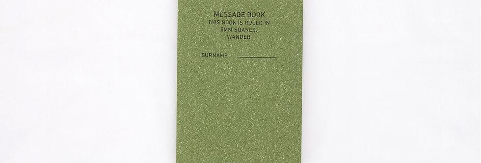 WANDER 方格紋筆記本