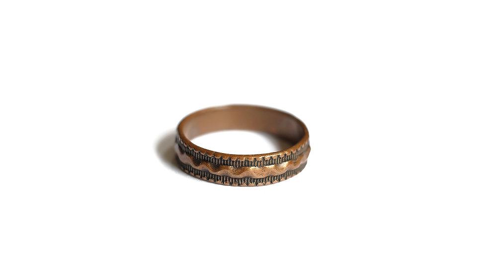 印第安紅銅戒指