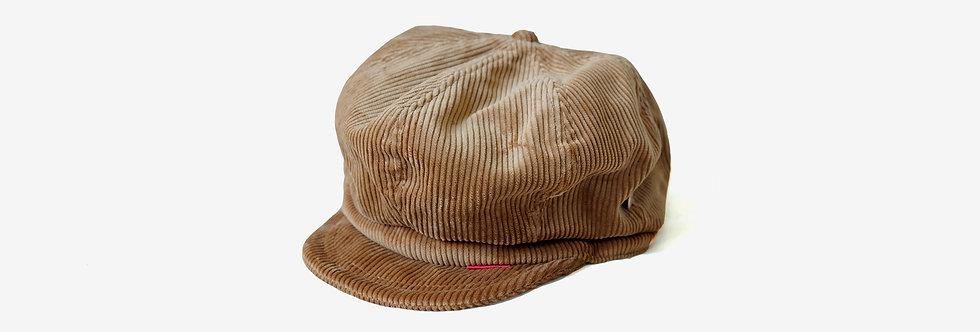 Round House 燈芯絨報童帽