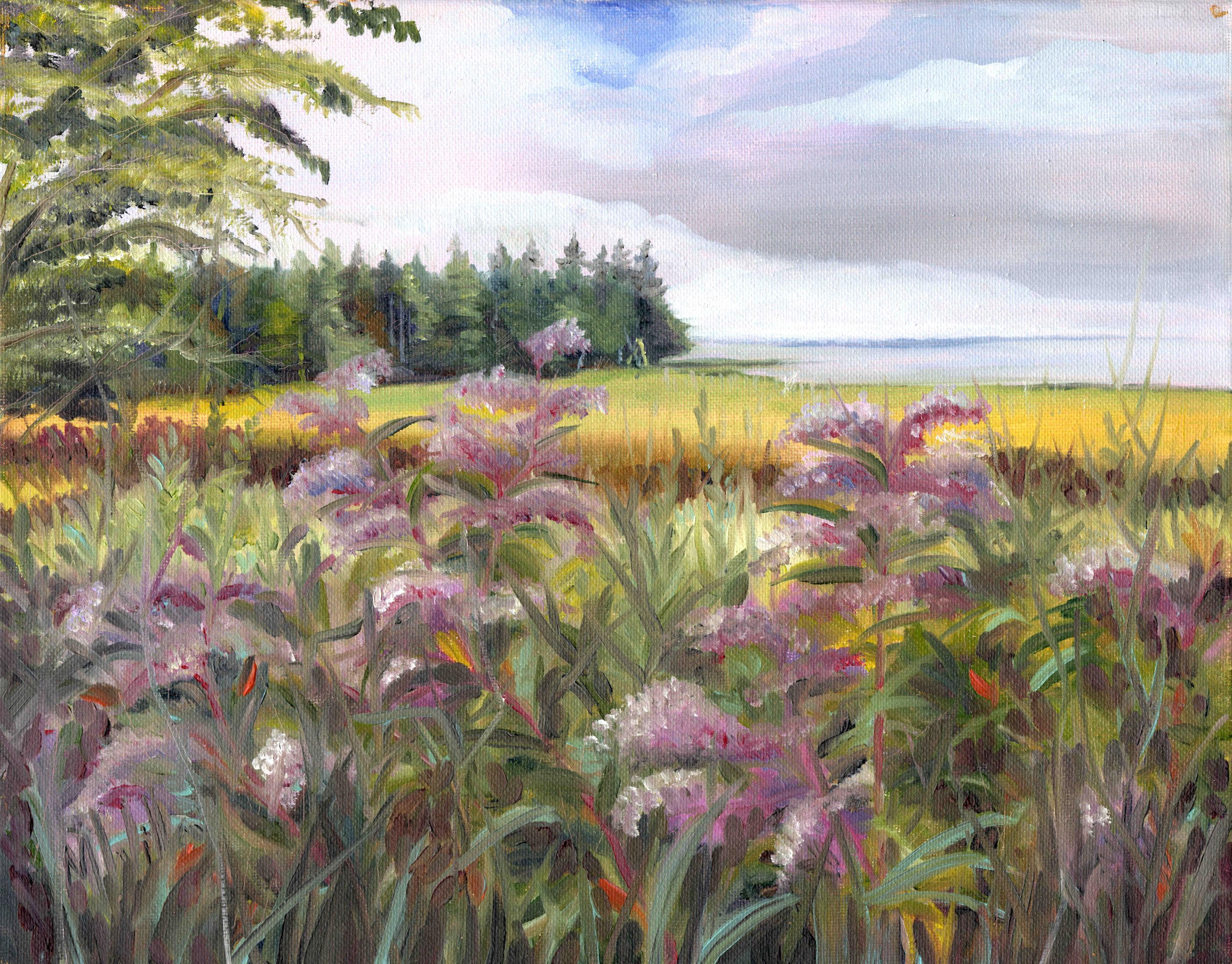 """""""Swamp Milkweed"""" Butler Cove - SOLD"""