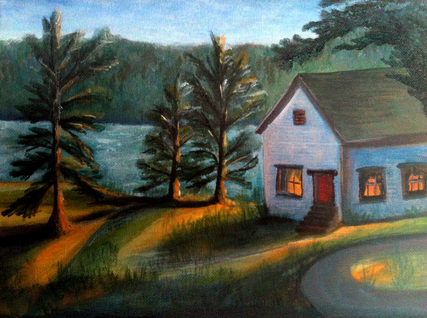 """House by the River"" - sold"