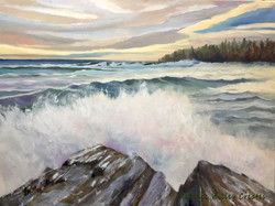 """Bailey Island Surf"""