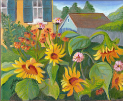 """""""Sunflowers"""" - sold"""