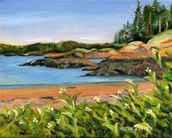 """""""Hermit Island Sunset"""" - sold"""