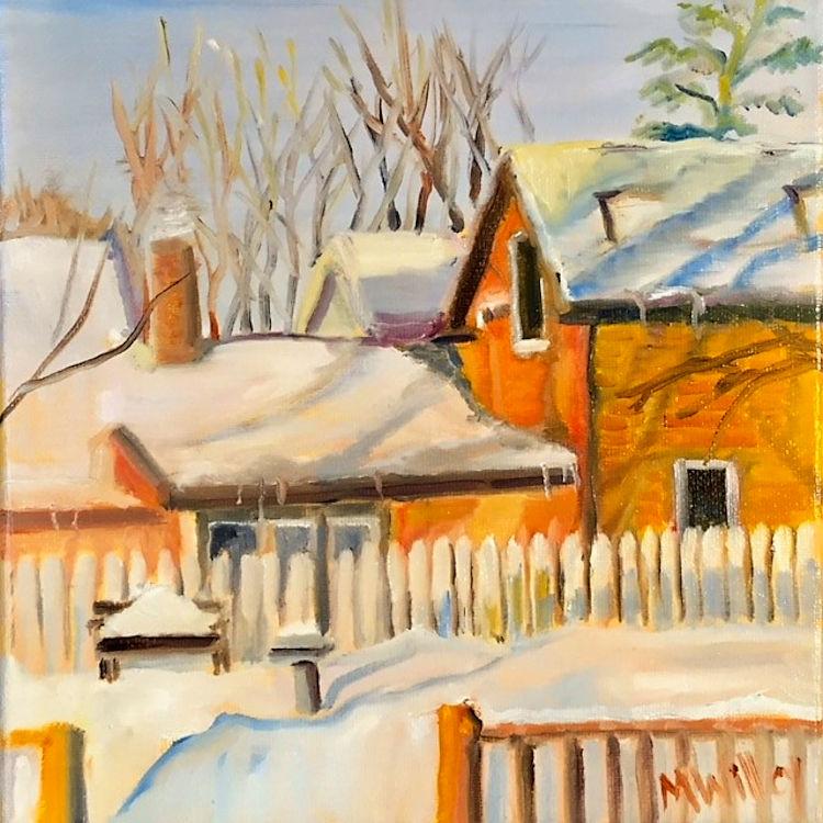 """Morning Winter Window"""