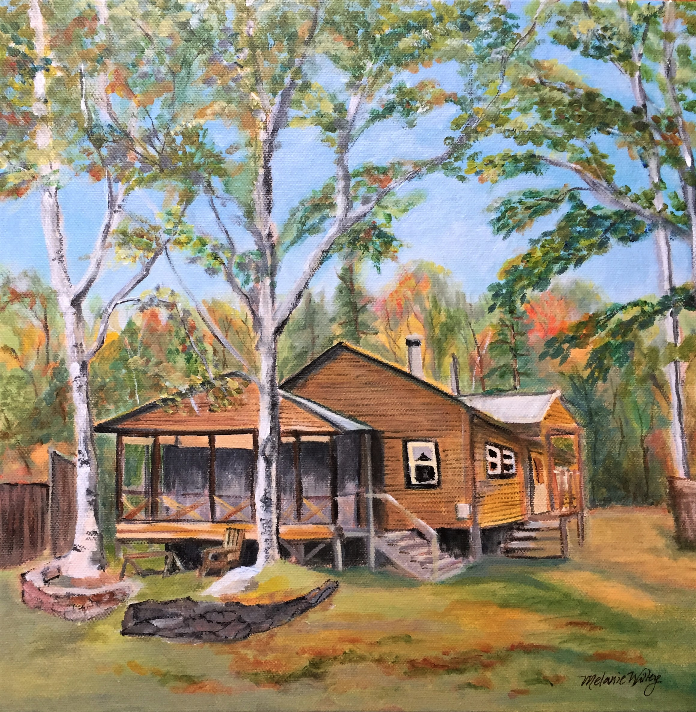 """At the Camp"" - sold"