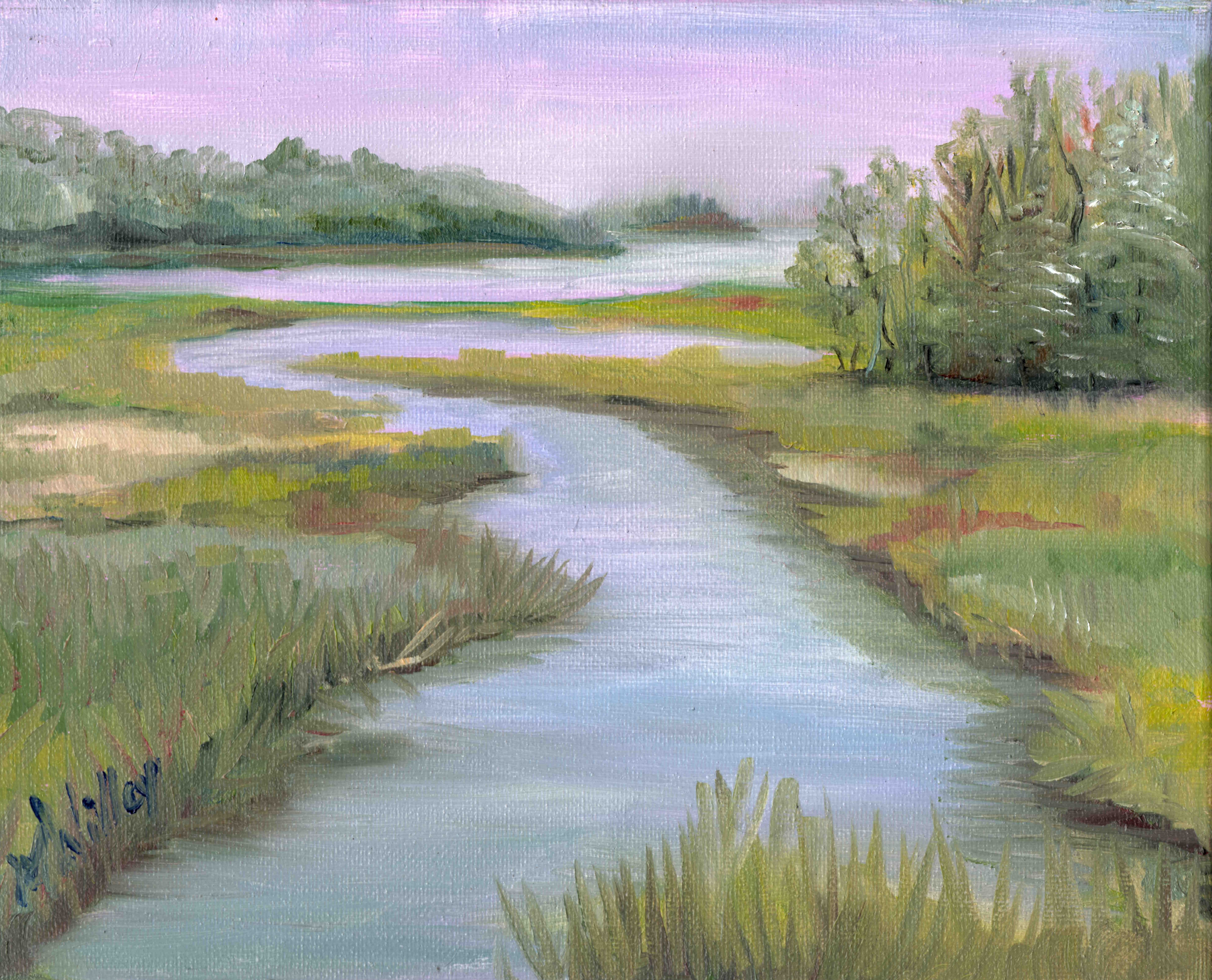 """""""Maine March View 2"""""""