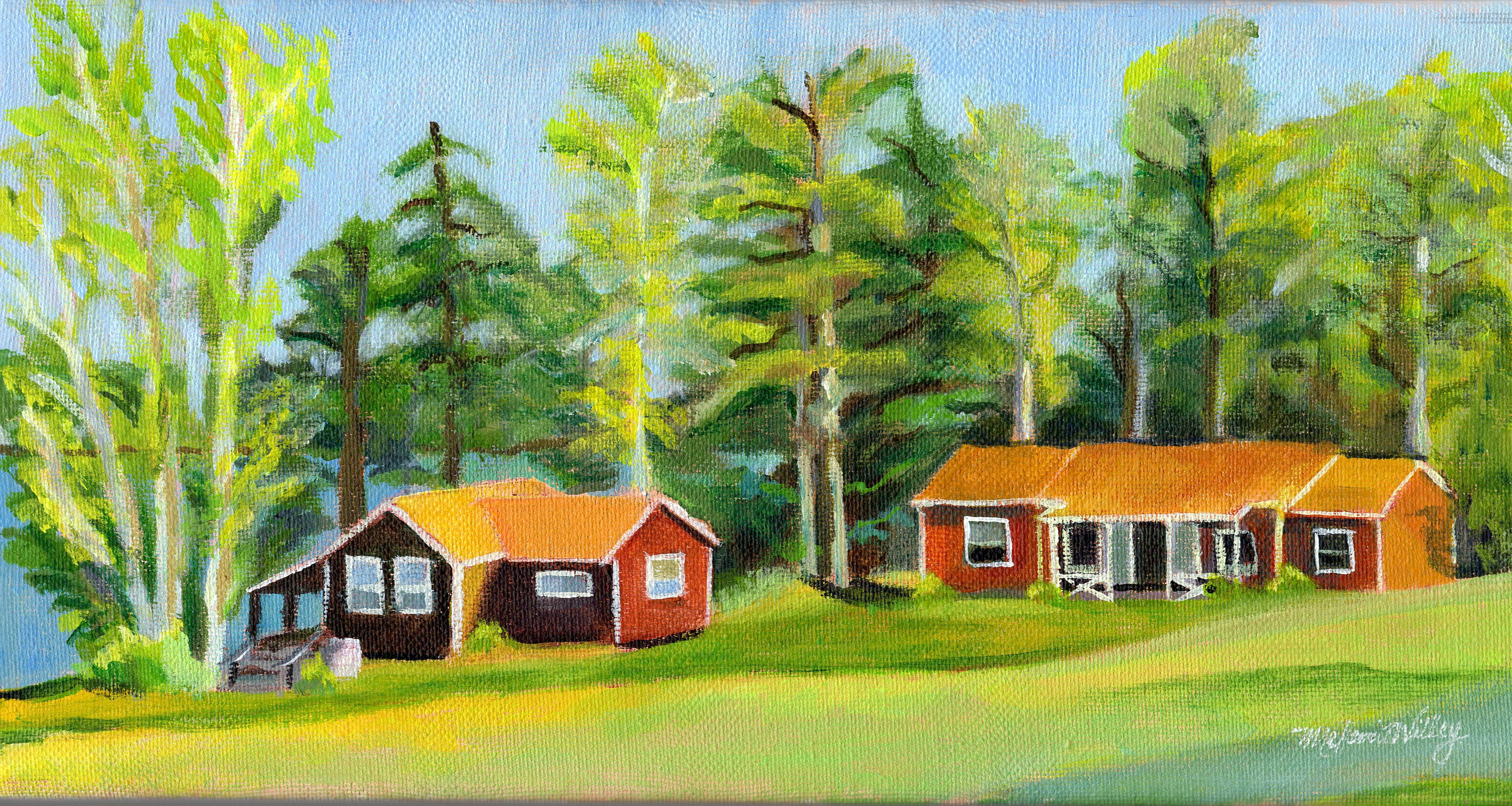 """Afternoon at Snow Pond"" - sold"