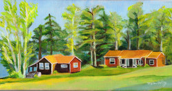 """""""Afternoon at Snow Pond"""" - sold"""