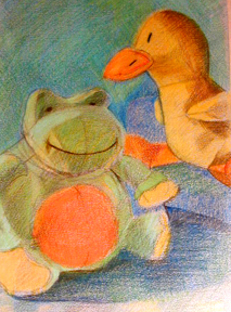 """""""Frog and Duck"""""""