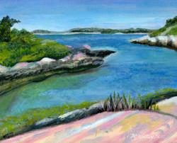 """Hermit Island Bath"" - sold"