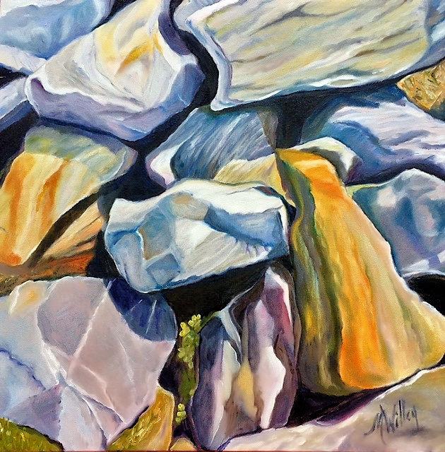 """Kennebec on the Rocks Series iii"""