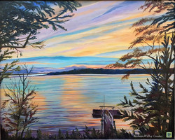 """""""Boothbay Sunset"""" SOLD"""