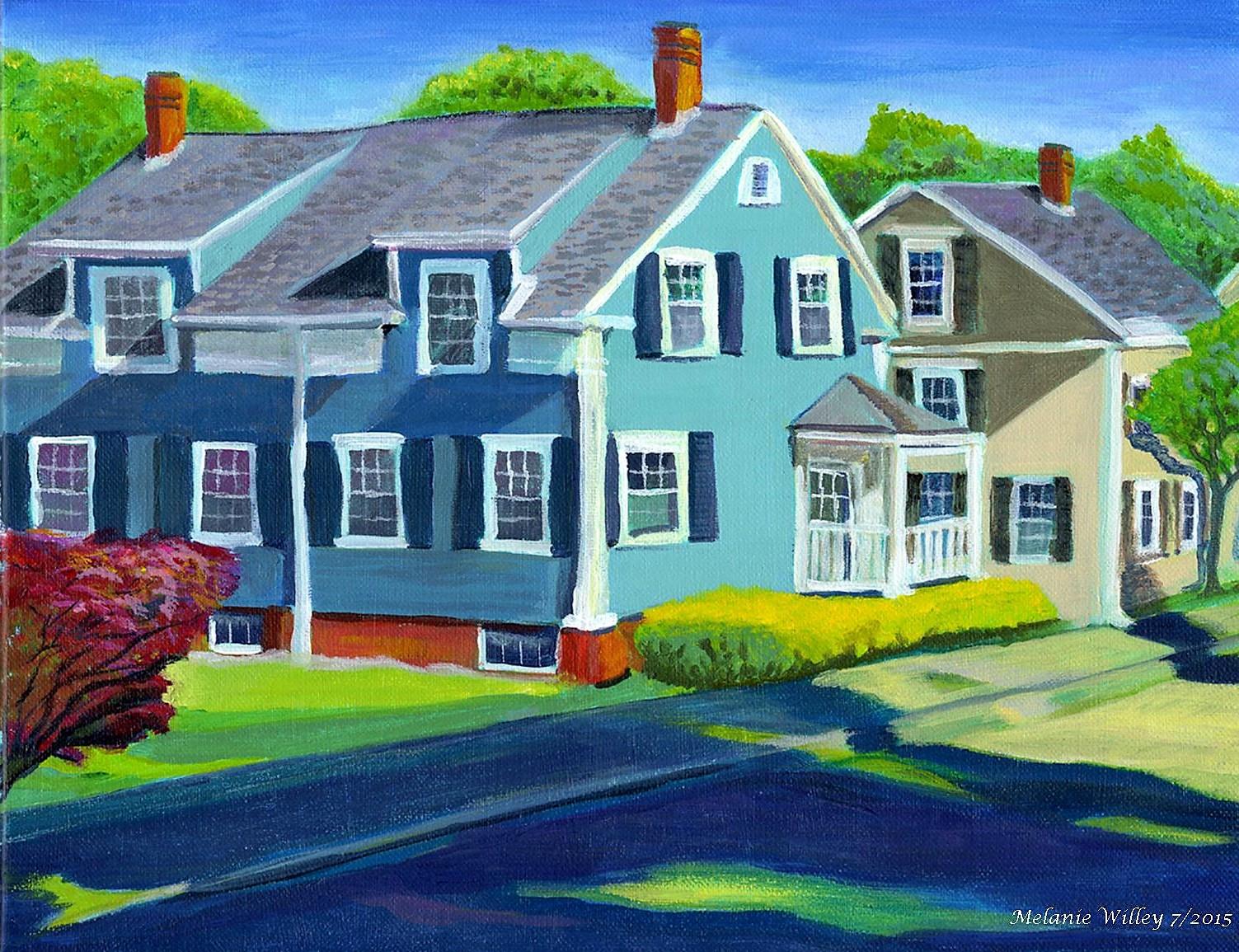 """Blue House on High"""