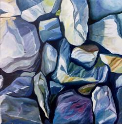 """Kennebec on the Rocks Series ii"""