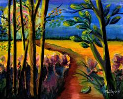 """""""Moonlight Walk"""" - sold"""