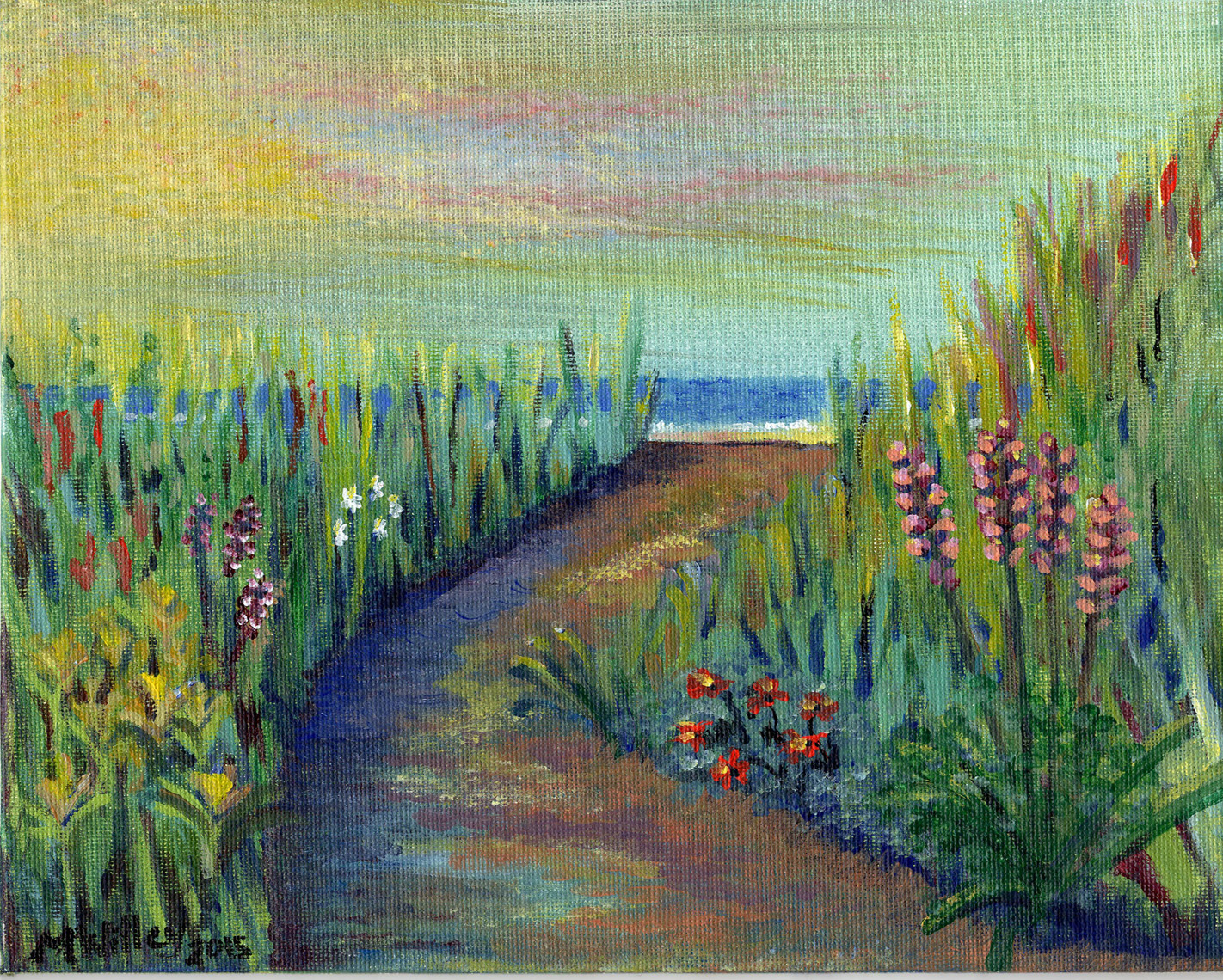 """Ocean Flower Path"""