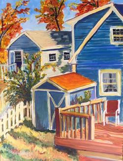 """Autumn in the Yard"" - nfs"