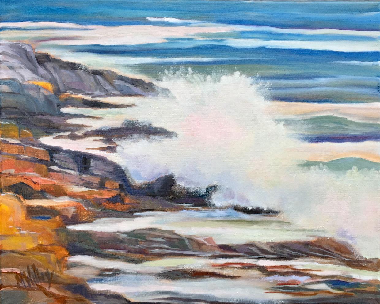"""Maine Surf"" - SOLD"