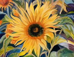 """""""Sunflower on a Sunny Day"""" - SOLD"""