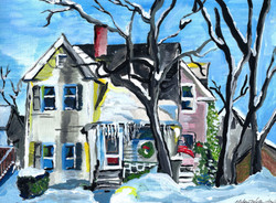 """""""Icicles on High"""" - sold"""