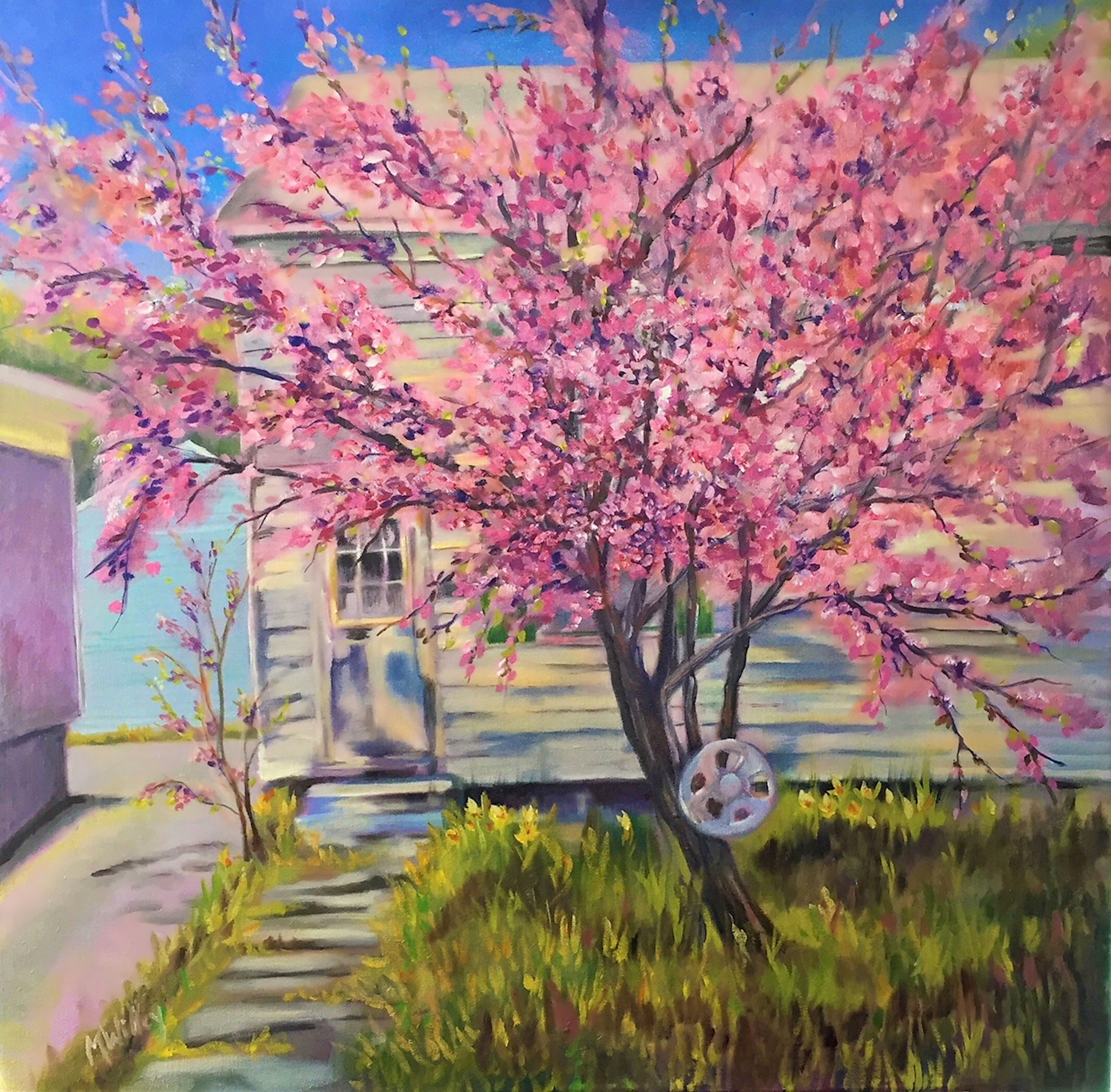 """Court Street Blossom"""