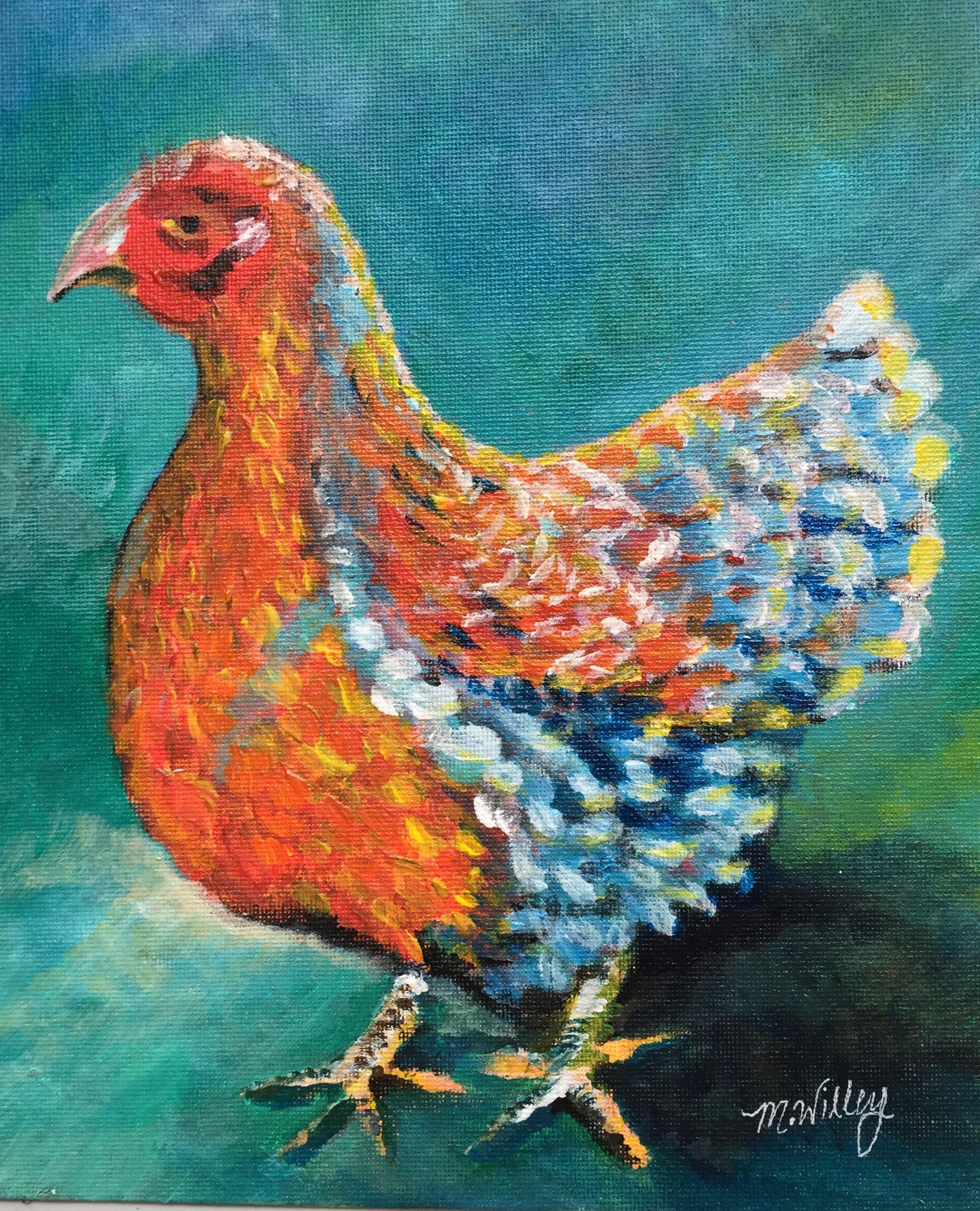 """""""Mum's Chicken"""" - sold"""
