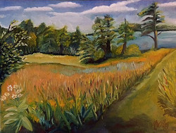 """""""Back Cove Meadow"""" - SOLD"""