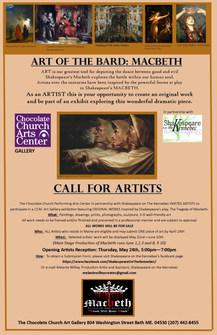 Call For Artists The Art of the Bard Macbeth.jpg